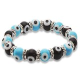 Blue Tag: Evil Eye Bracelets - Turquoise and Black